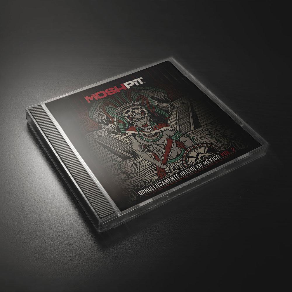 CD Orgullosamente hecho en México vol. 2 0000008