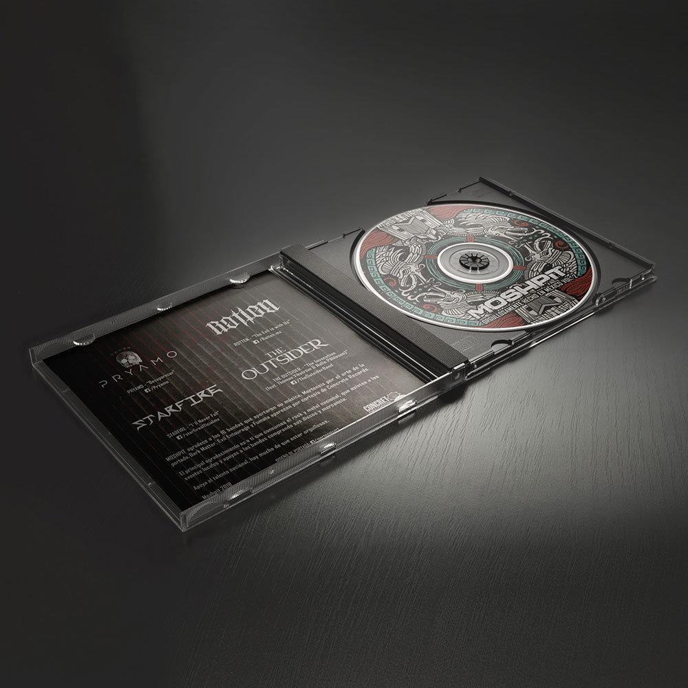 CD Orgullosamente hecho en México vol. 2