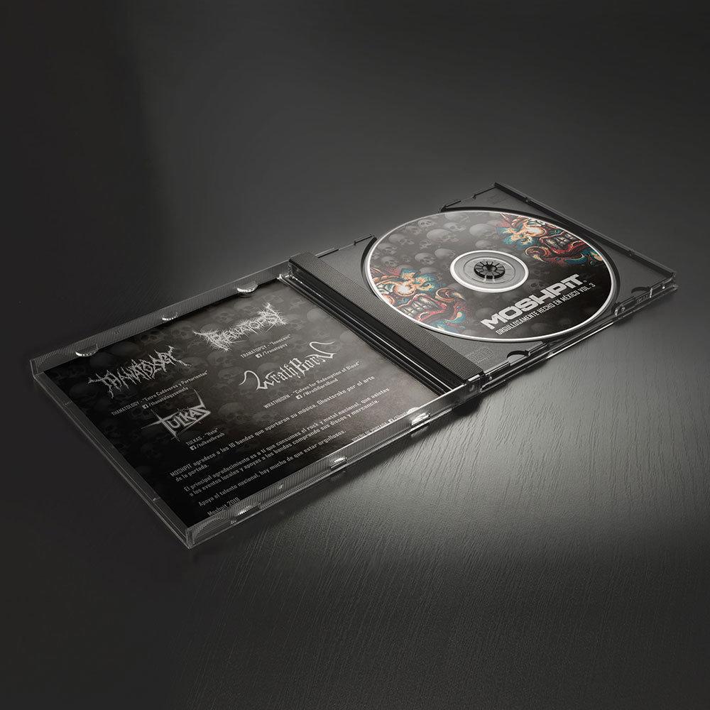 CD Orgullosamente hecho en México vol. 3