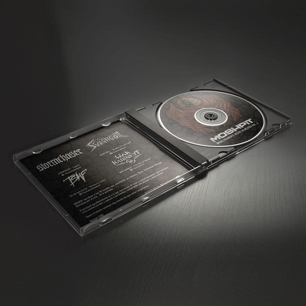CD Orgullosamente hecho en México vol. 4