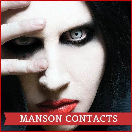 MANSON HALLOWEEN CONTACT LENS