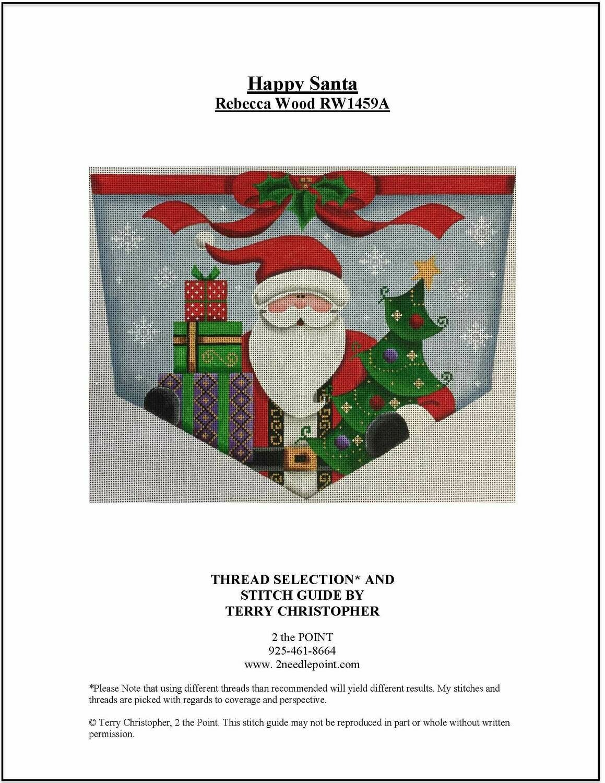 Rebecca Wood, Happy Santa Cuff RW1459A