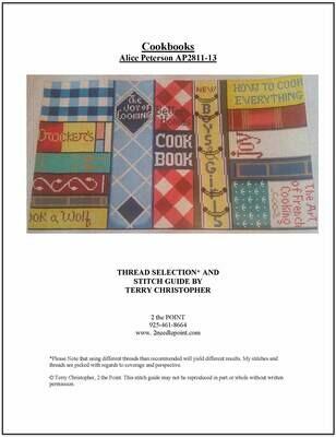 Alice Peterson, Cookbooks AP2811