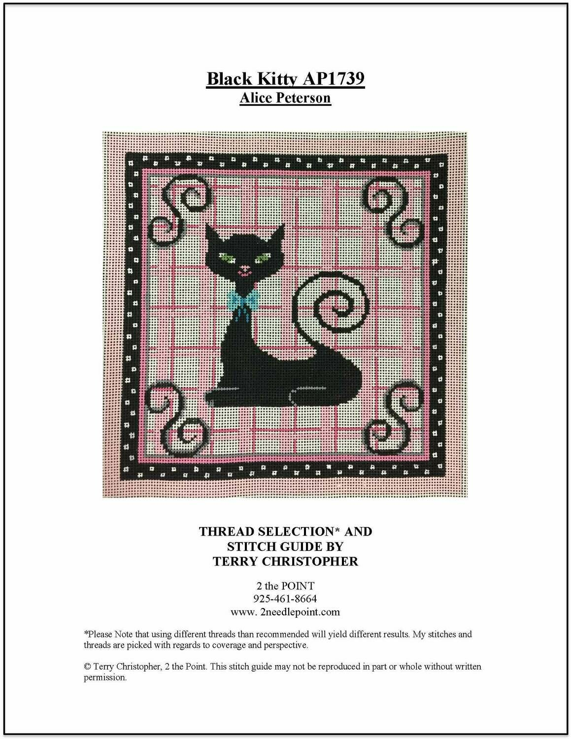 Alice Peterson, Black Kitty AP1739