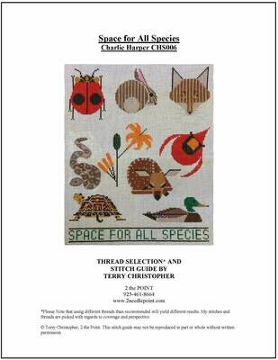 Charlie Harper, Space for all Species CHS006