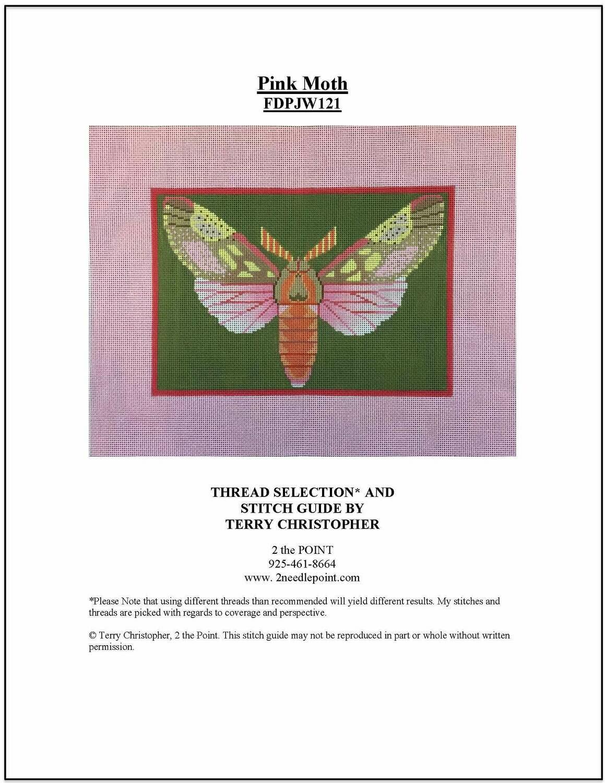 Fleur, Pink Moth FDPJW121