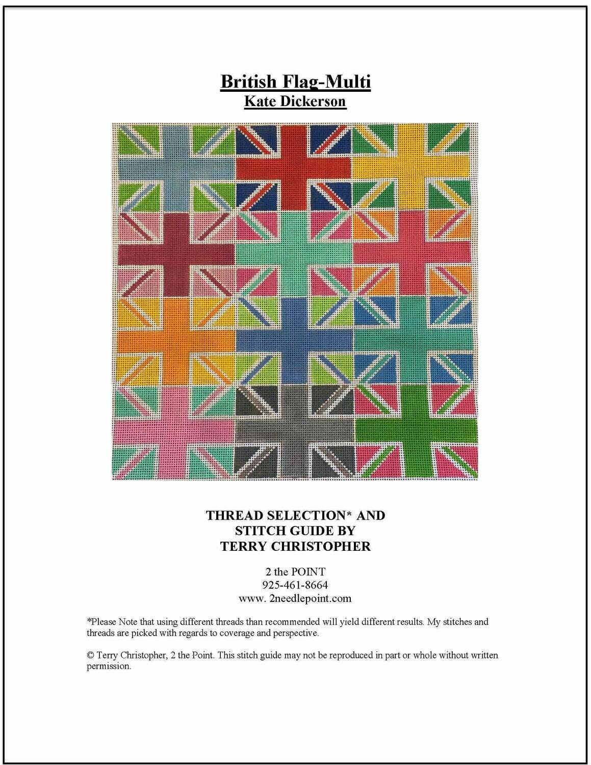 Kate Dickerson, British Multi-Colored Flags, KDPL102