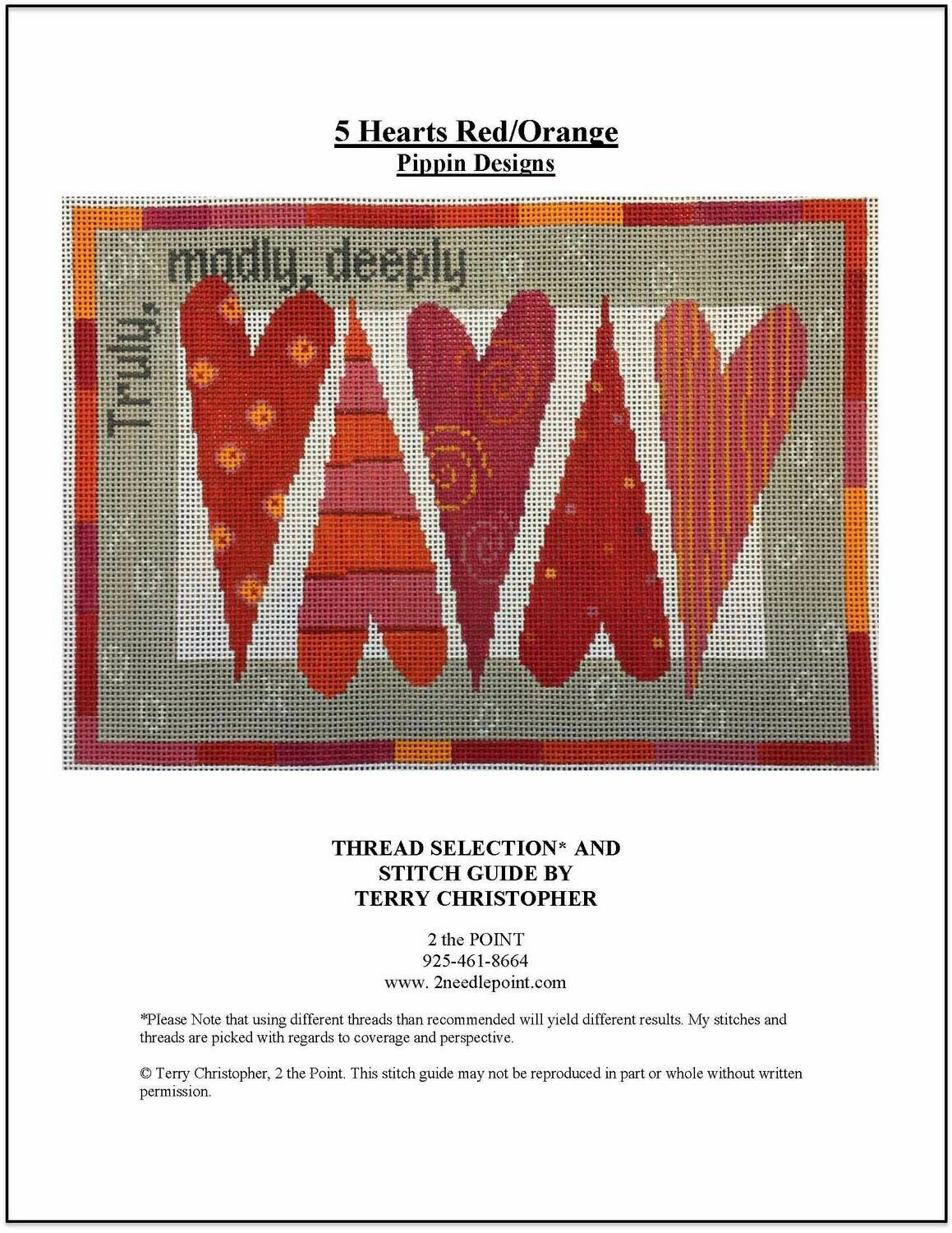Pippin Designs, Truly, Madly, Deeply PDF014