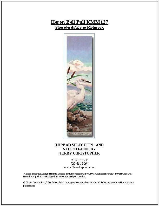 Shorebirds, Heron Bell Pull KMM127