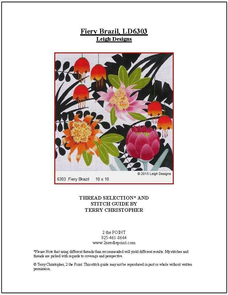 Leigh Designs, Fiery Brazil LD6303