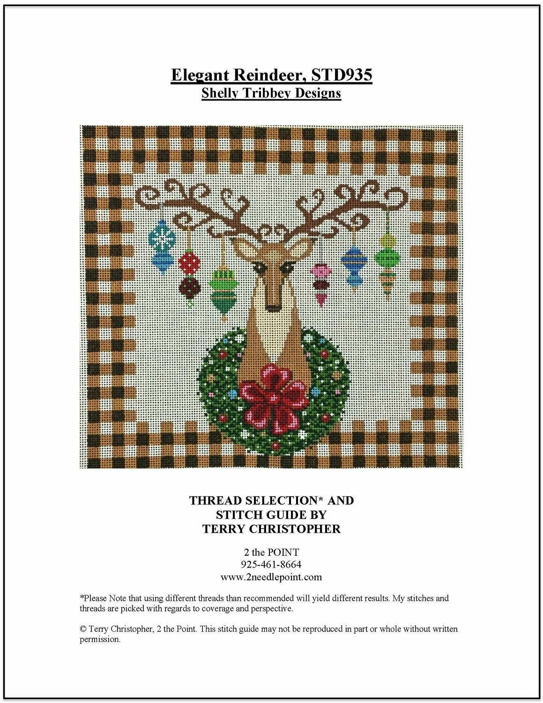 Shelly Tribbey, Elegant Reindeer STDC935