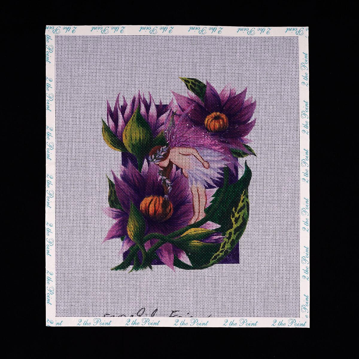 Winnetka Stitchery, Purple Fairy - Discontinued