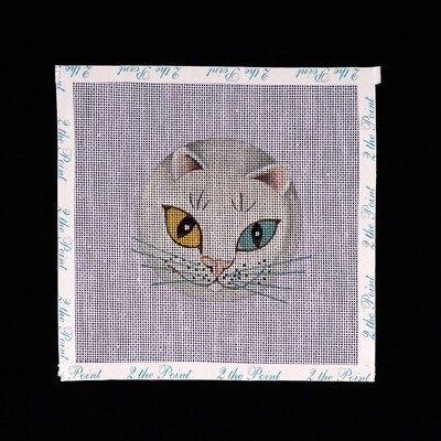 Unknown Designer, Kitty with Yellow/Blue Eyes