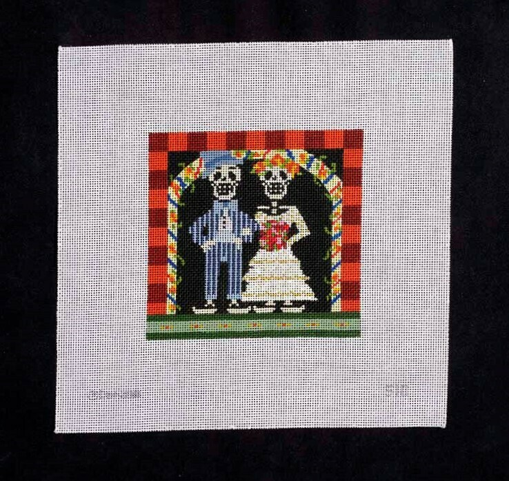 Denise DeRusha, Day of the Dead Couple, EWE S10