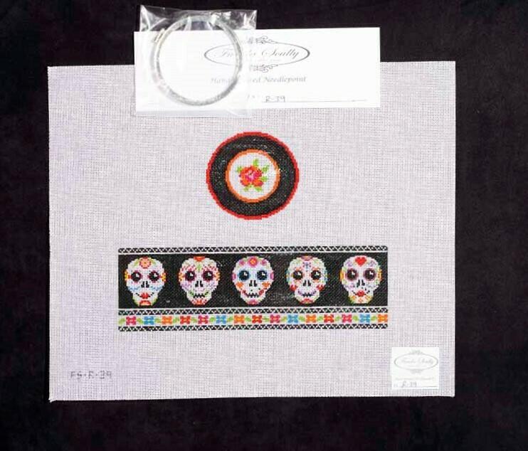 Funda Sculley, Day of the Dead trinket box, FSR39
