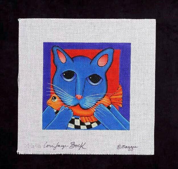 Maggie, Blue Cat, M696