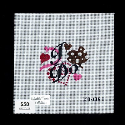 Elizabeth Turner, I DO Ornament, ETCX01751