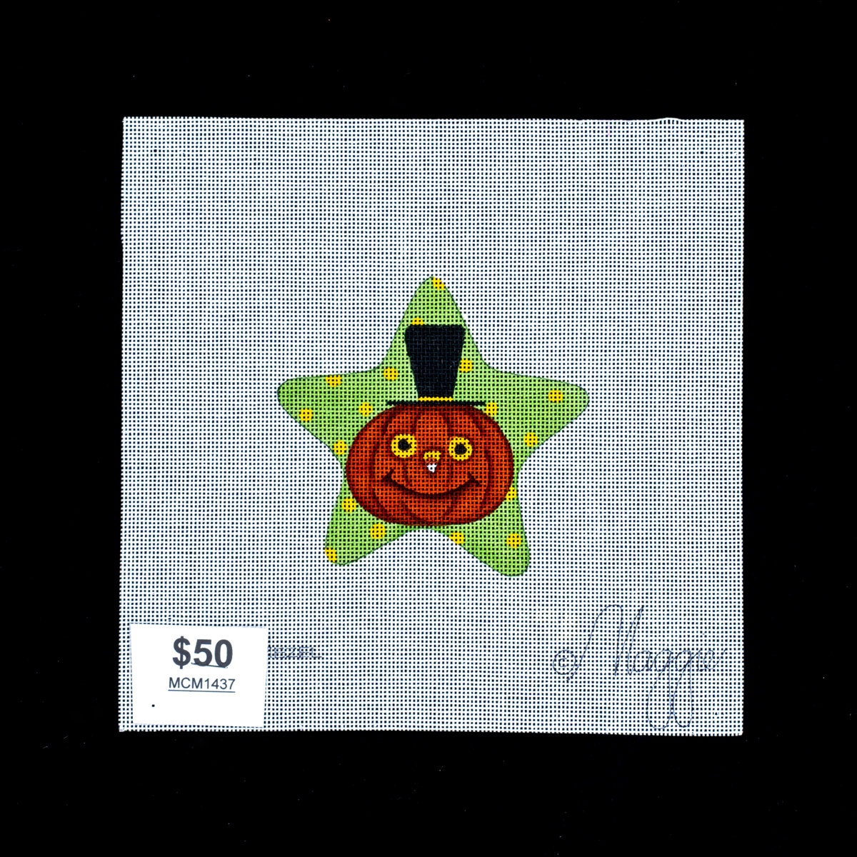 Needle Crossings, Pumpkin Star, MCM1437