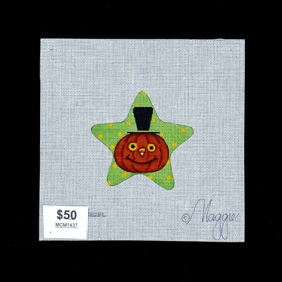 Needle Crossings, Pumpkin Star, MCM1437