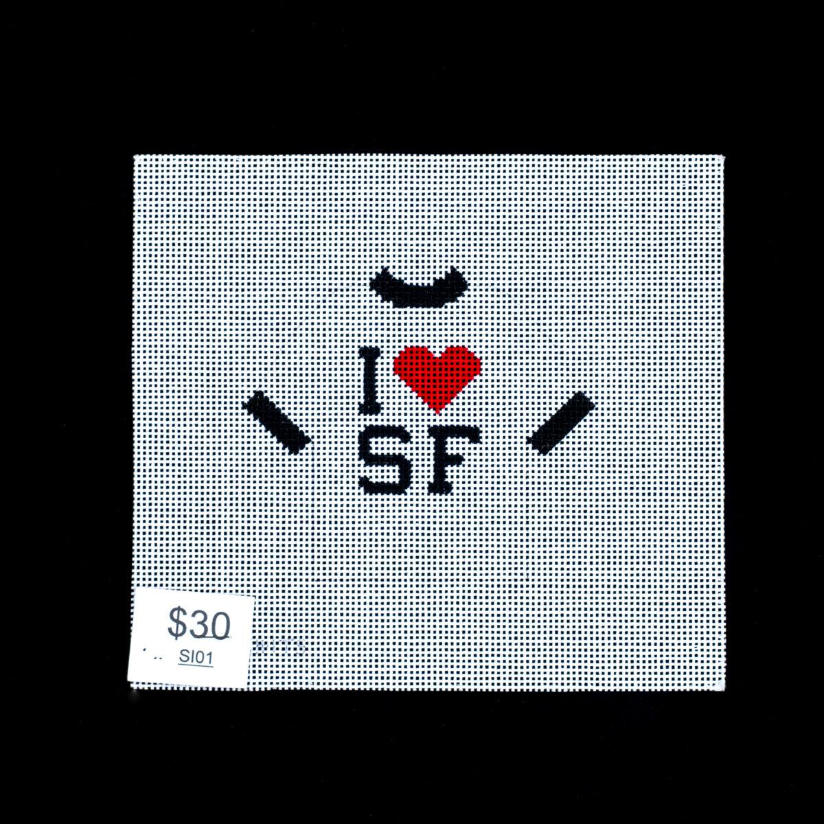 Stitch Its, I Heart SF Shirt, SI01
