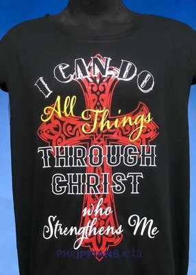 I CAN DO ALL THINGS T-SHIRT FREE SHIPPING