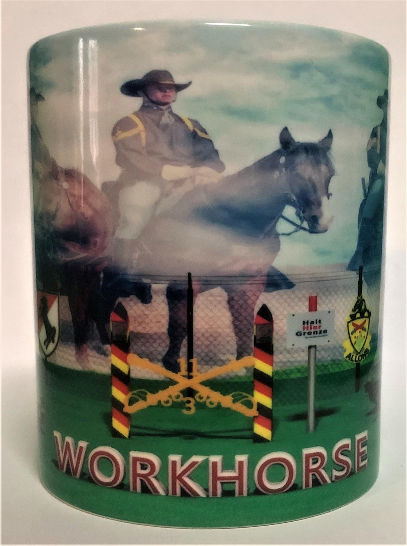 Workhorse Border Coffee Mugs FREE SHIPPING