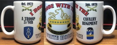 8th Cavalry Regiment Coffee Mug FREE SHIPPING