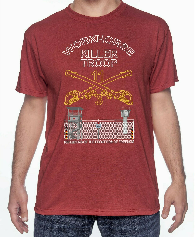 Killer Troop Workhorse Border Shirt