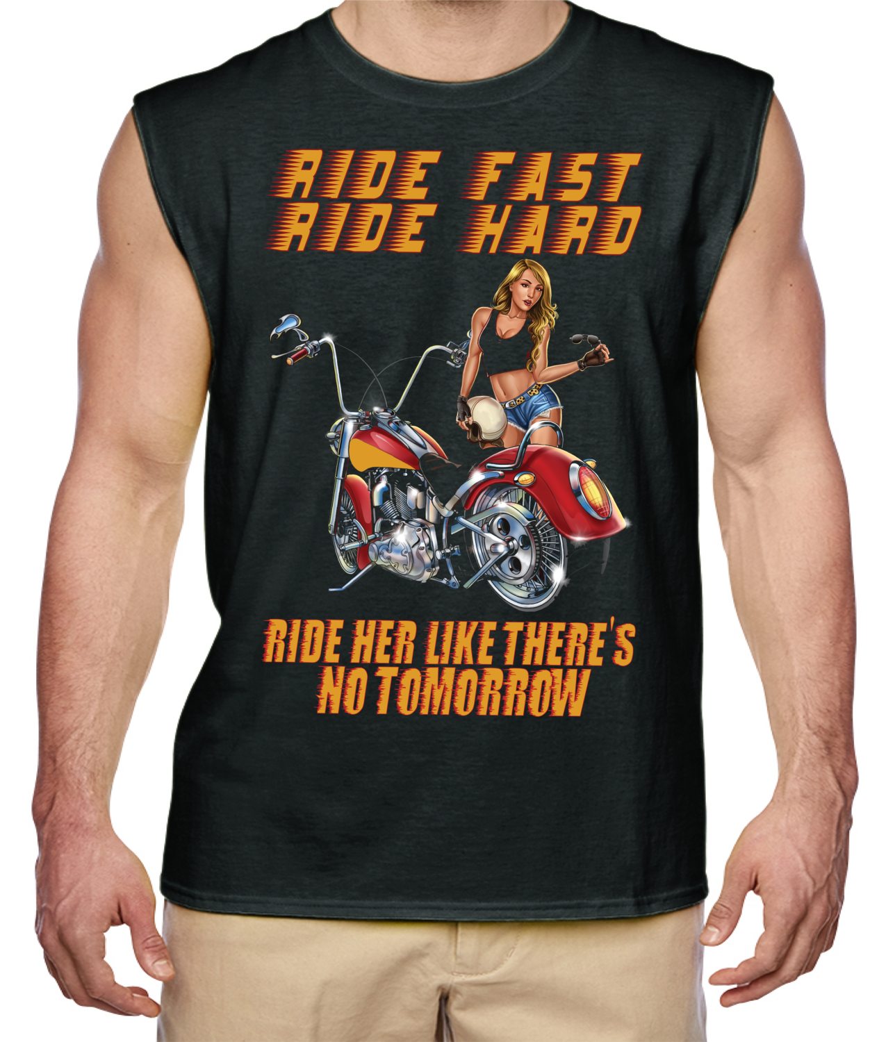 Ride Hard Ride Fast Men's Shirt FREE SHIPPING