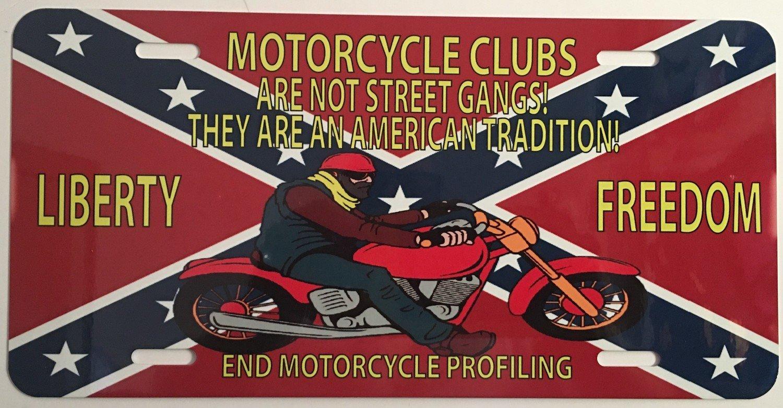 License Plate Not Street Gangs Rebel