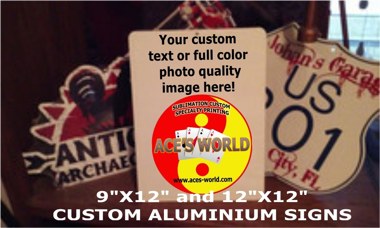 Customized Personalized Signs FREE SHIPPING