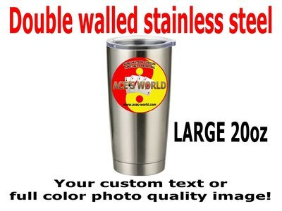 20oz Stainless Steel Vacuum Sealed Tumbler FREE SHIPPING