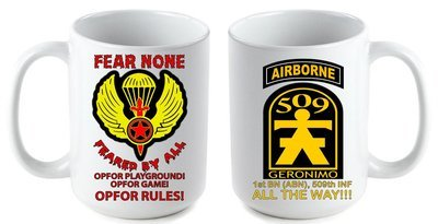 Fear None Coffee Mug FREE SHIPPING