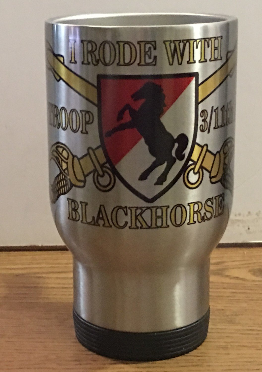11th ACR Blackhorse 14oz Travel Mug FREE SHIPPING