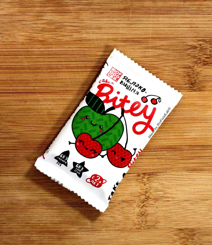 Батончик фруктовый Вишня Bitey, 25 г
