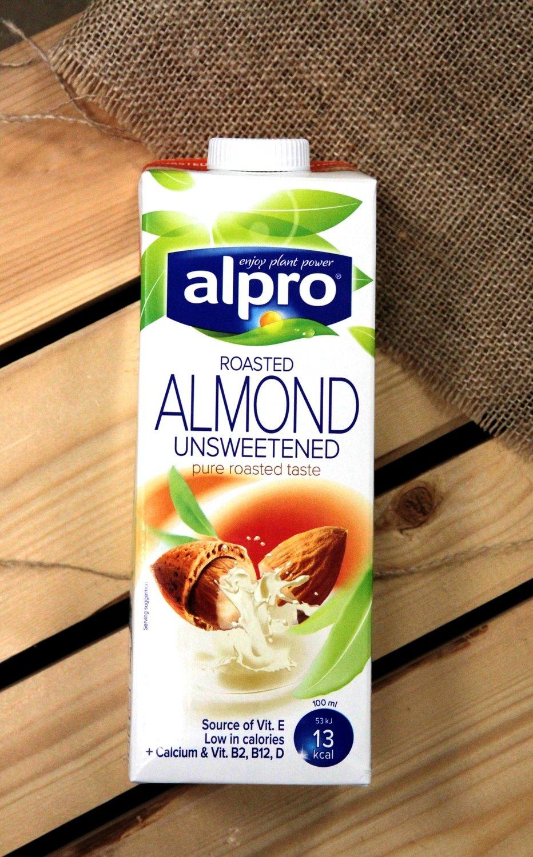 Напиток Миндальный без сахара Alpro, 1 л