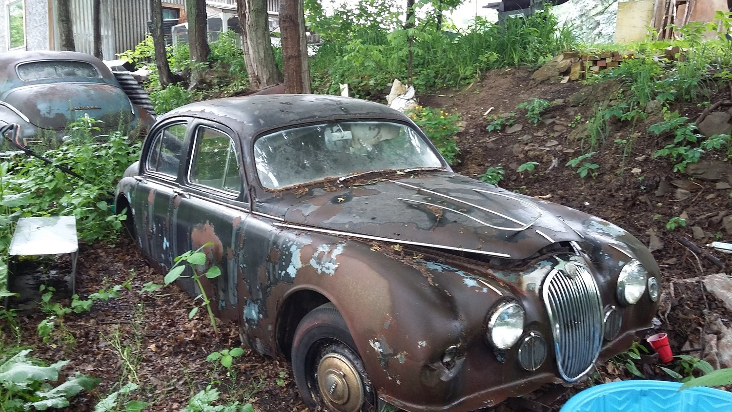1957 Jaguar Parts only  Call with inquiry