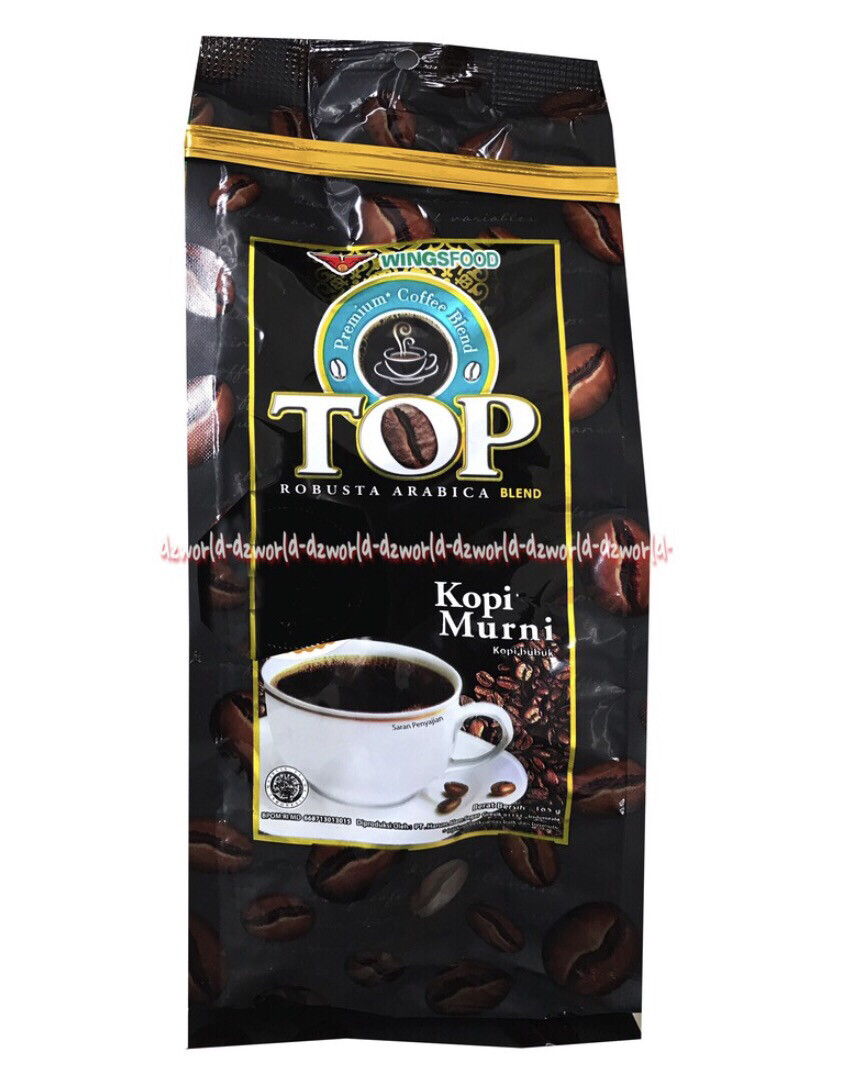 TOP Coffee Murni Robusta Arabica