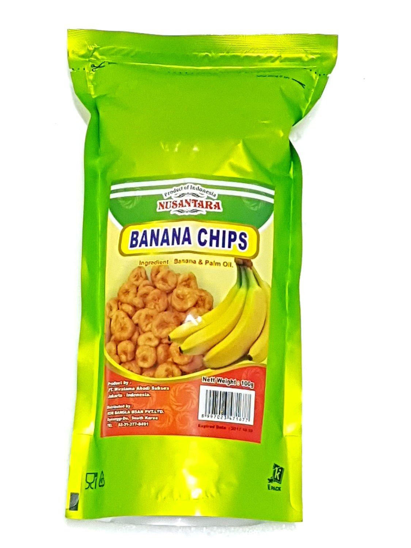 Nusantara Coconut Chips Pisang