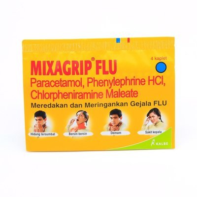 Mixagrip Flu @4 Butir