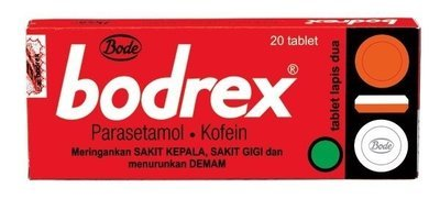 Bodrex Sakit Kepala @10 Tablet