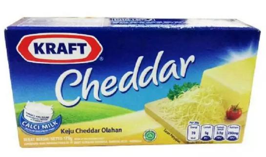 keju craft cheddar 75gr
