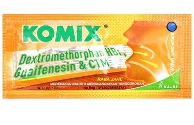Komix Rasa Jahe Per 3 Sachet