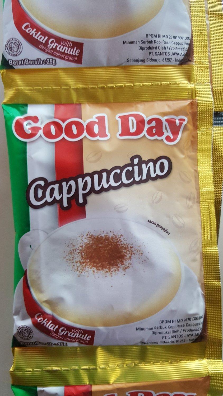 Kopi Good Day cappucino