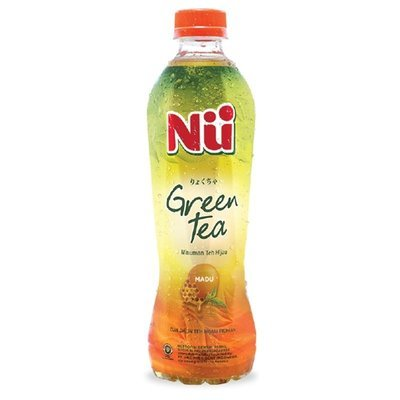 Nu Green Tea - Rasa Madu (Honey) 450 ml