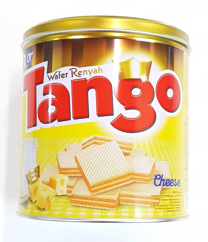 Tango Kaleng Rasa Keju 350g