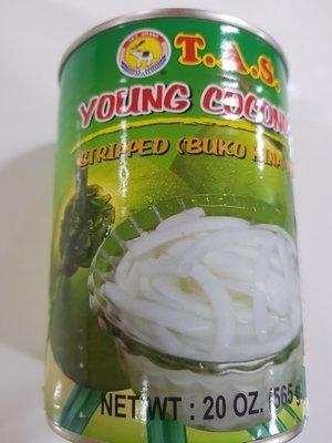 Kelapa Muda Kaleng TAS (565 gr)