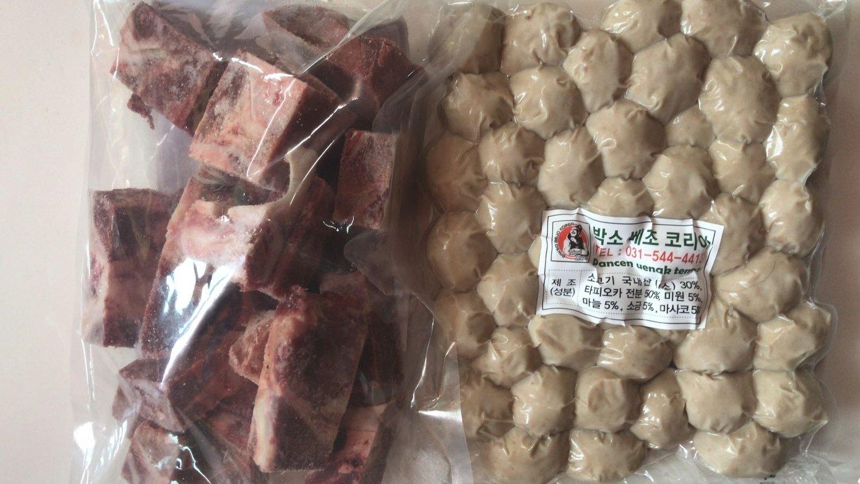Paket Bakso Ayam Sapi (1 Kg) + Iga (1 Kg)