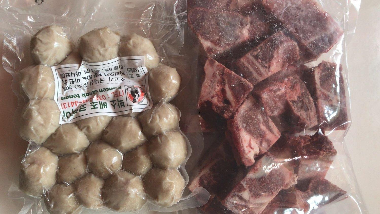 Paket Bakso Ayam Sapi (500 gr) + Iga (1 Kg)