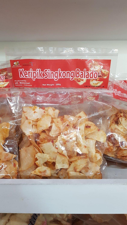 Mekarsari - Keripik Singkong Balado